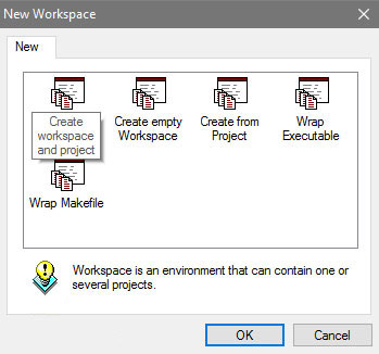 Create workspace and project